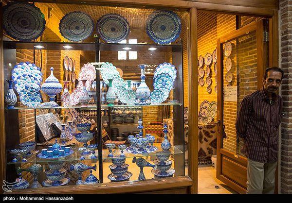 پرسه زنی در بازارچه صنایع دستی «طهران قدیم»