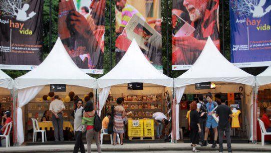 پنجمین نمایشگاه کتاب کاراکاس