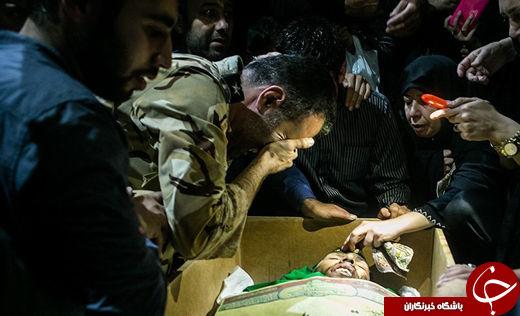 مادرانههای جوانترین تکاور شهید ارتش: فرزندم فدای امام خامنهای