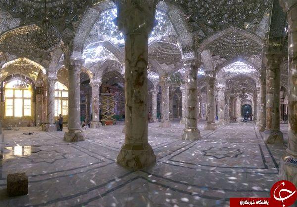 افتتاح بخشی از صحن حضرت فاطمه(س) در نجف اشرف + تصاویر