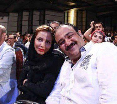 عکس مهران غفوریان و همسرش