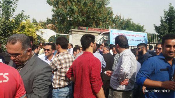 انتخابات نظام مهندسی استان گلستان در حاشیه+عکس