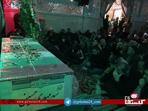 وداع شهید سیدمهدی حسینی (23)