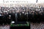 فیلم/ اقامه نماز رهبر انقلاب بر پیکر مرحوم هاشمی