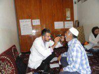 بهره مندی 81 نفر از ساکنین یک روستای کلاله از خدمات درمانی رایگان + عکس