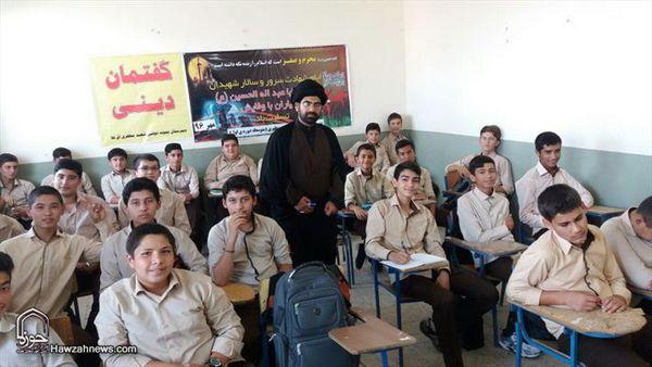 فعالیت مبلغان موسسه دارالزهرا(س) در گلستان + تصاویر