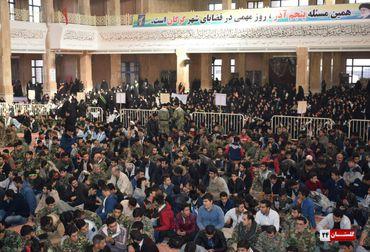 اجتماع عظیم مردم وبسیجیان گرگانی به مناسبت روز بسیج و 5 آذر