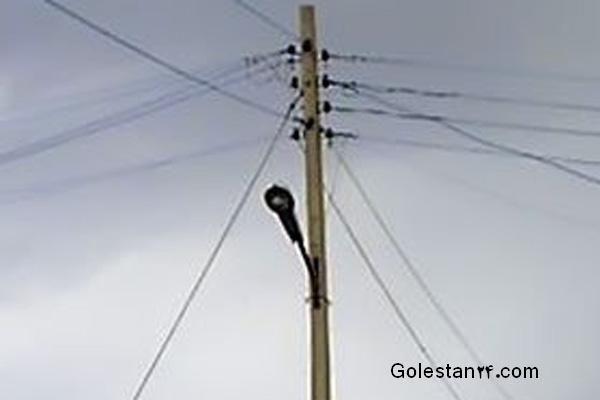 دلیل قطعی برق در غرب استان گلستان