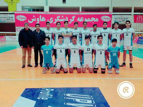 برتری تیم والیبال دکتر ایری برابر حریف کلاله ای در لیگ جوانان گلستان+عکس