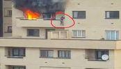 دانلود کلیپ تلاش خانم مشهدی برای نجات خود از آتش سوزی