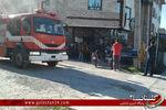 یک فست فود در کردکوی آتش گرفت