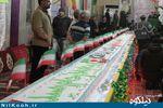طولانیترین کیک کشور در گلستان رونمایی شد + تصاویر