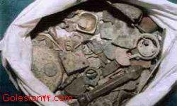 دستگیری اعضای باند حفاری و کشف اشیای عتیقه