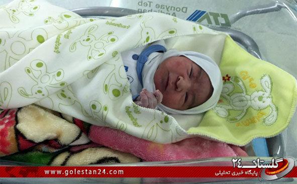 پسر شهید حتملو سید طاها