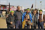تصاویر/زائرانی که شهید مدافع حرم شدند