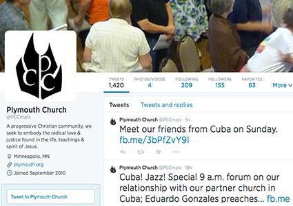 شبکه های اجتماعی بر کلیساها