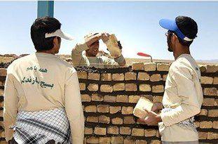 ساخت سرویس بهداشتی برای خانه محروم در «قلعهحسن» گرگان