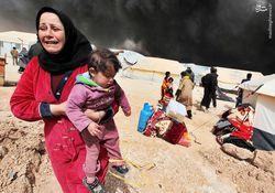 اشک تمساح مجری بیبیسی و سیانان برای ساکنان تحریمشده حلب +عکس