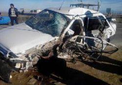 دو کشته در تصادف مرگبار محور آق قلا به گرگان/تصاویر+18