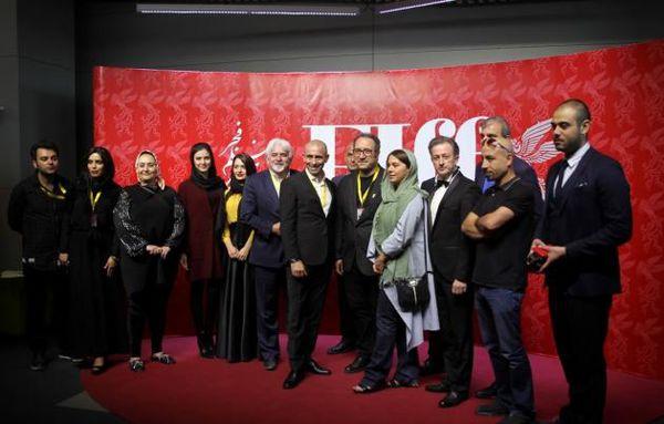 تصاویر/حجاب بازیگران خارجی در جشنواره فجر