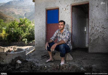 عکس سیلزدگان سوادکوه