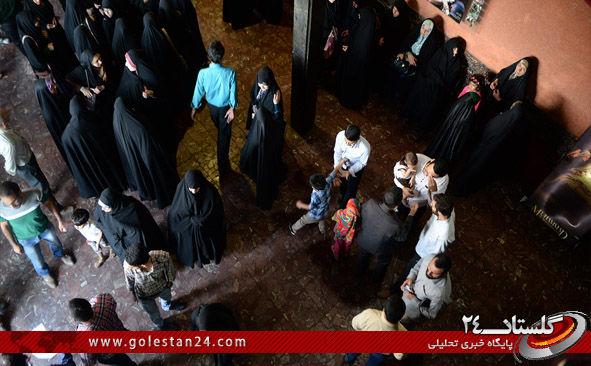 اکران فیلم محمد رسول الله در گرگان 8
